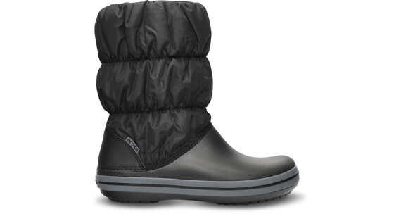 Crocs Winter Puff Boots Women Black/Charcoal